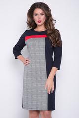 <p>Это платье - козырь в Вашем гардеробе! Оно очень комфортное, имеет лаконичный, но интересный дизайн. Простой, отличный вариант для деловых встреч. (Длины: 44-46-48=97см; 50-52=100см;54=101см)</p>
