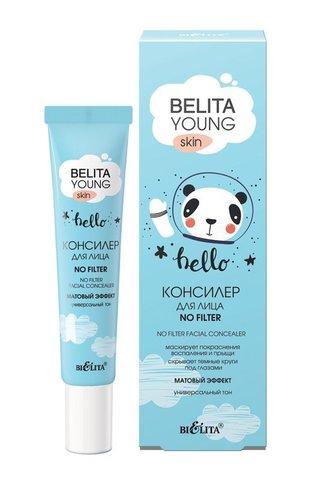 Belita Young Skin Консилер для лица «NO FILTER» 20мл