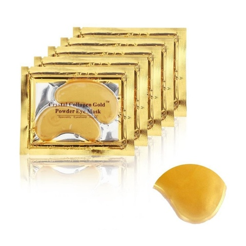 Гидрогелевые патчи с коллагеном, для кожи вокруг глаз Collagen Crystal Eye Mask Gold 1 шт.