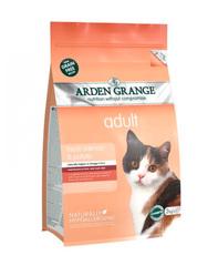 Arden Grange Adult корм беззерновой для кошек с Лососем и картофелем 400 г