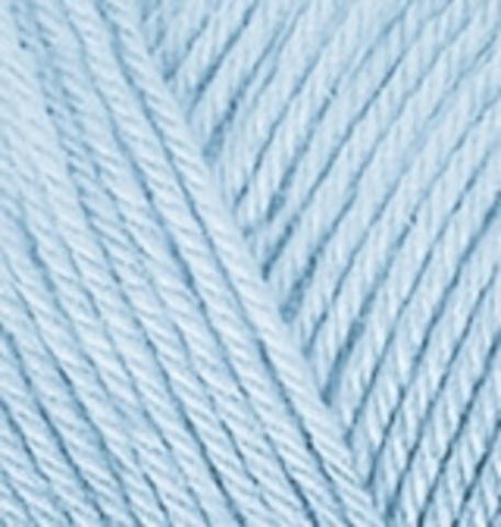 Пряжа Diva Plus Alize 480 светло-голубой фото