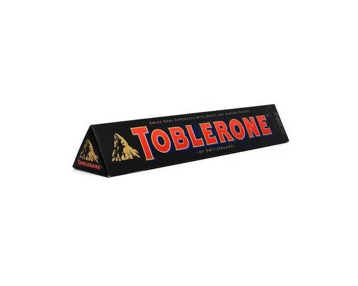 Горький шоколад Toblerone с нугой