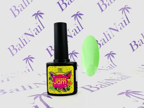 TNL Гель-лак Summer Jam 04 - неоновый светло-зеленый, 10 мл