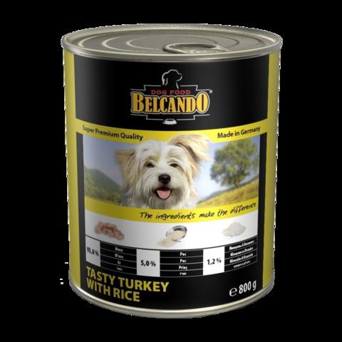 Belcando Turkey with Rice Консервы для собак с индейкой и рисом