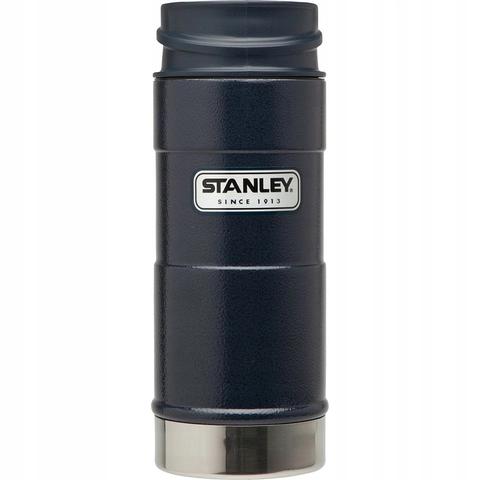 Термокружка Stanley Classic One Hand (0,35 литра), темно-синяя