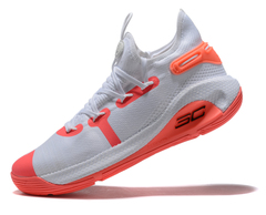 Under Armour Curry 6 'White/Orange'