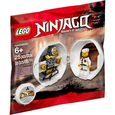 LEGO Ninjago: Тренировочная капсула Зейна 5005230 — Zane's Kendo Training Pod polybag — Лего Ниндзяго