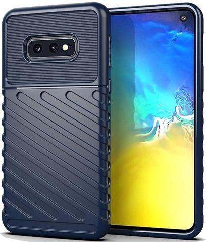 Чехол Samsung Galaxy S10e цвет Blue (синий), серия Onyx, Caseport