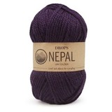 Пряжа Drops Nepal 4399 темно-фиолетовый