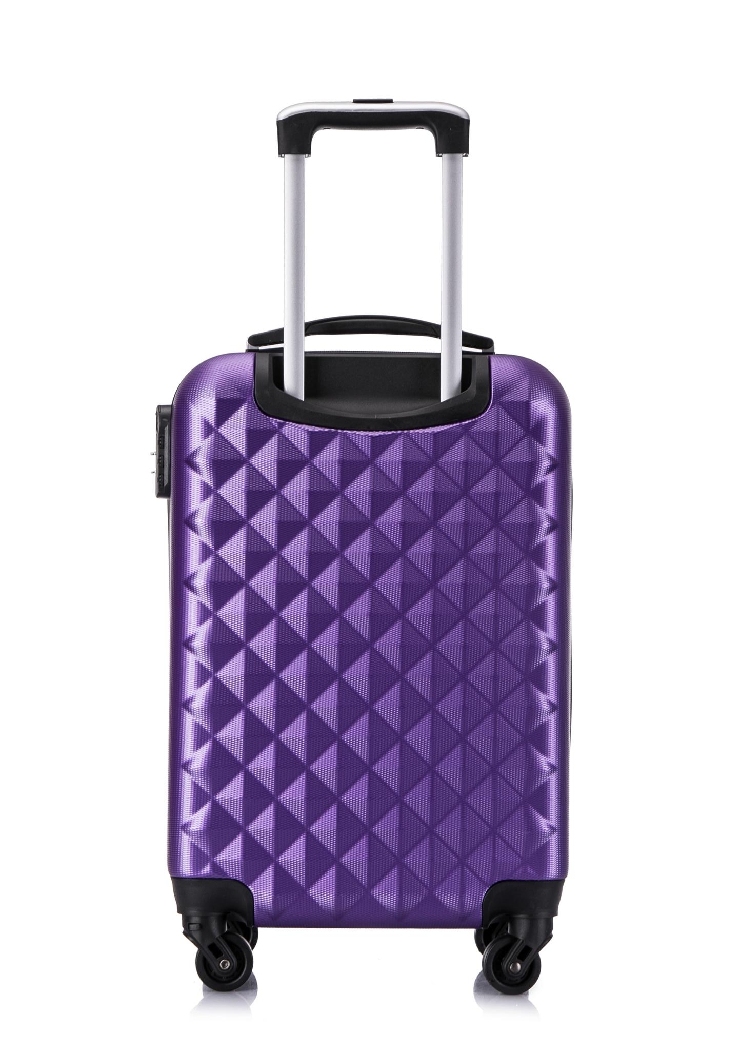 Чемодан со съемными колесами L'case Phatthaya-28 Фиолетовый (L)