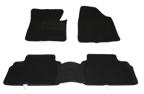 Автомобильные коврики 3D текстиль (комплект)