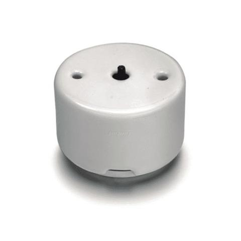 Выключатель/переключатель поворотный на 2 направления(проходной, схема 6) без ручки 10А 250В~. Цвет Белый. Fontini DO(Фонтини До). 33308171