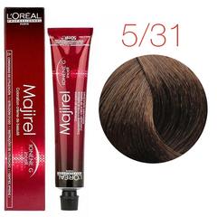L'Oreal Professionnel Majirel 5.31 (Светлый шатен золотисто-пепельный) - Краска для волос