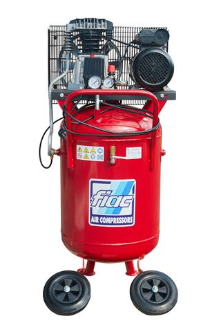 Вертикальный поршневой компрессор FIAC ABV 100-360A спереди