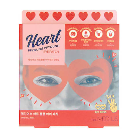 Гидрогелевые патчи для глаз THE MEDIUS Heart Ppyoung Ppyoung Eye Patch