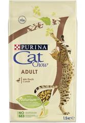 Корм для взрослых кошек, Purina Cat Chow, с уткой