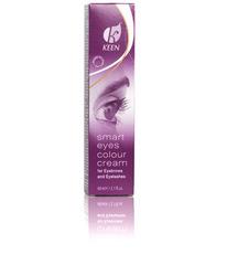 KEEN краска для бровей и ресниц 60 мл, черная (KEEN smart eyes, schwarz) 60 мл