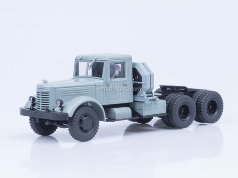 YaAZ-210D truck tractor gray 1:43 AutoHistory