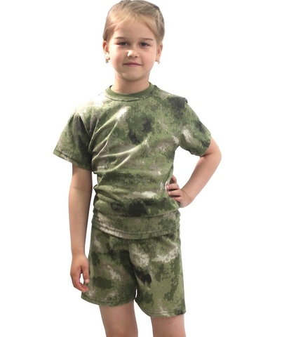 Комплект футболка+шорты Зарница Атак