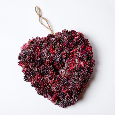 Венок-сердце