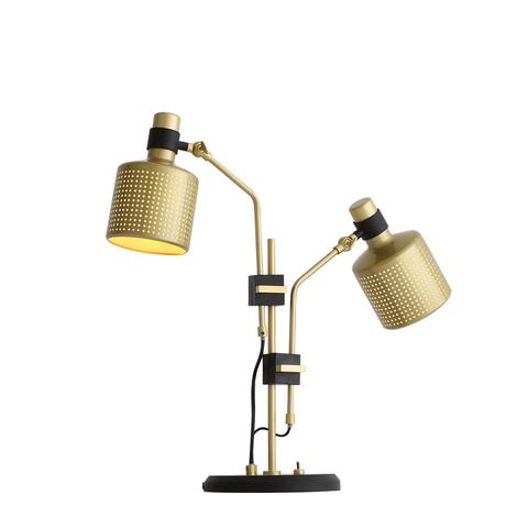 Настольный светильник копия Riddle Double by Bert Frank (черный)