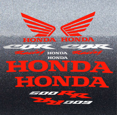 Набор виниловых наклеек на мотоцикл HONDA CBR 600RR 2006