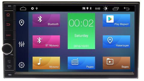 Магнитола универсальная 2DIN Android 9.0 4/64 IPS DSP модель 7A705PX5