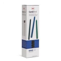 Пружины для переплета пластиковые GBC 10мм, черные 100шт/уп.