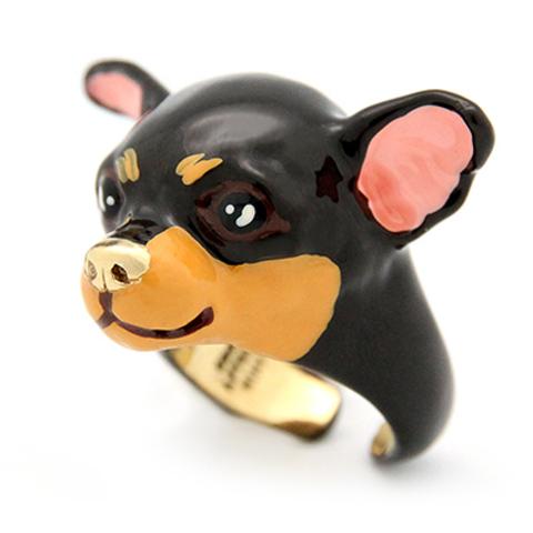 Кольцо Чихуахуа (коричневый)