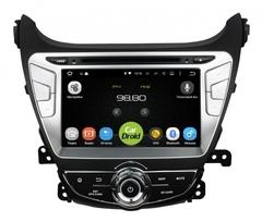 Штатная магнитола на Android 8.0 с DPS для Hyundai Elantra 5 14+ Roximo CarDroid RD-2006