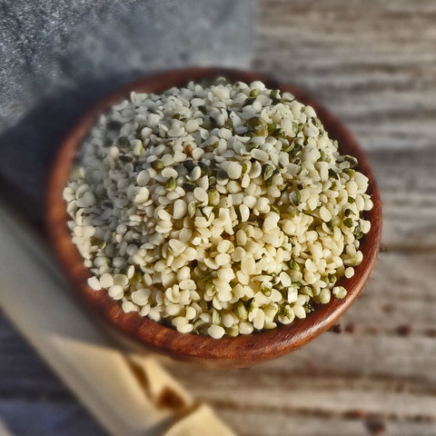 Ядра семян конопли