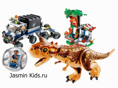 КОНСТРУКТОР BELA DINOSAUR WORLD 10926 (593 ДЕТ.)