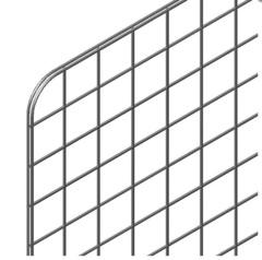 GP7-980х770 (ячейка 70х70) Панель-сетка 980х770мм  хром