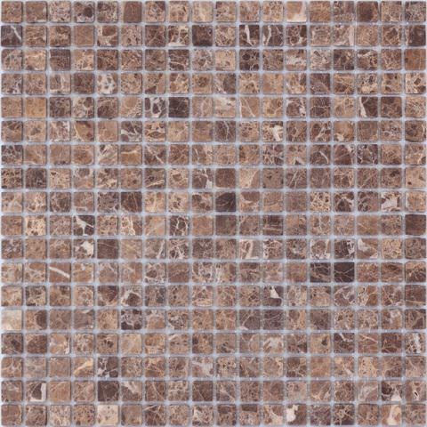 Мозаика Emperador Dark POL 15x15x4 305х305