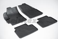 """Резиновые коврики """"Сетка"""" для Daewoo Matiz II (2000-н.в.)"""