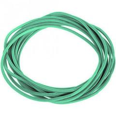 Резинка банковская универсальная 1000 г (диаметр 30 мм, толщина 1.5 мм, зеленая)