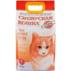 Наполнитель для кошачьего туалета, Сибирская Кошка Оптима