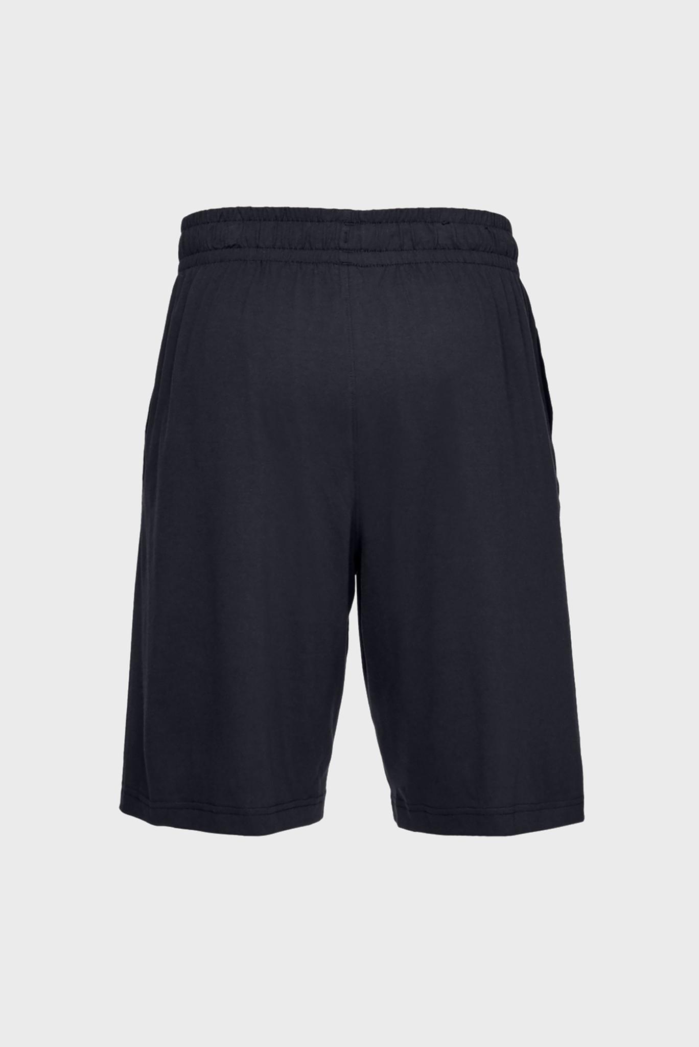 Мужские черные шорты SPORTSTYLE COTTON SHORT Under Armour