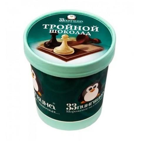 33 пингвина Тройной шоколад 490 мл