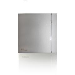 Вентилятор накладной S&P Silent 100 CRZ Design Silver (таймер)