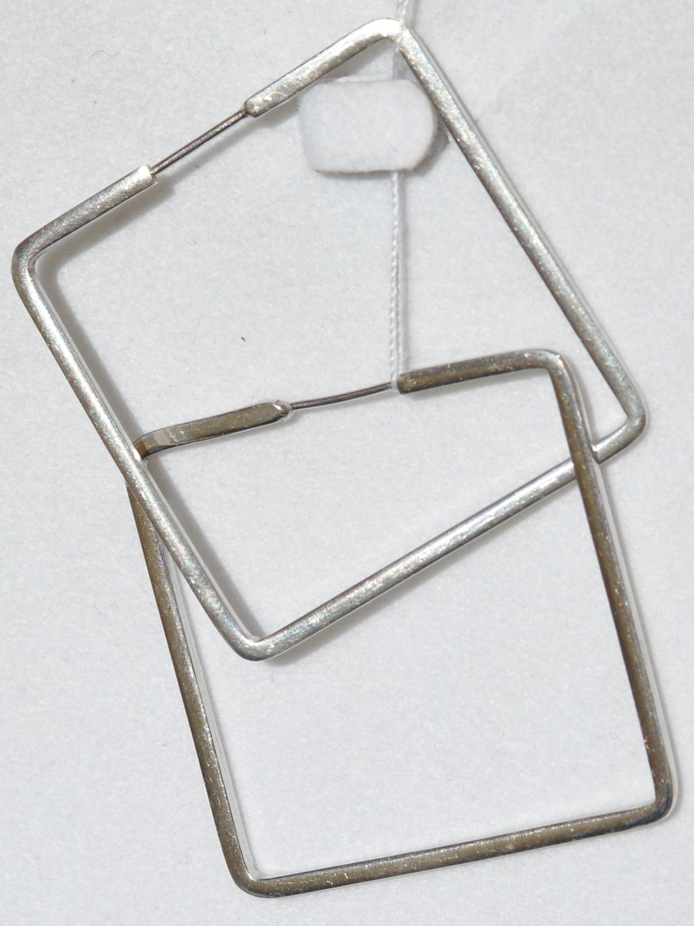 Квадрат (конго из серебра)