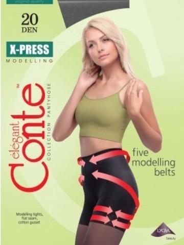 Conte X-Press Колготки женские 20d, p.5 moccа