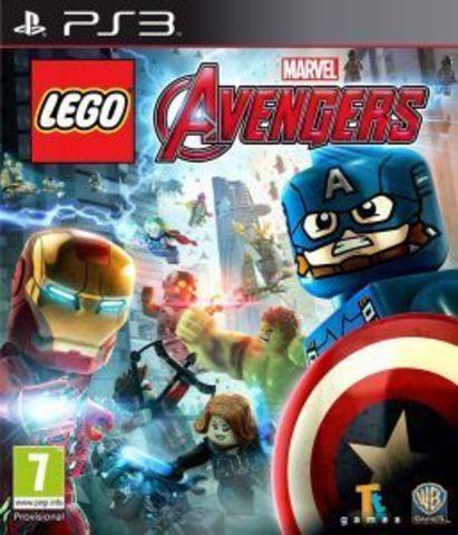 PS3 LEGO Marvel Мстители (русские субтитры)