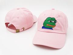 Кепка лягушка розовая (Бейсболка лягушка розовая)