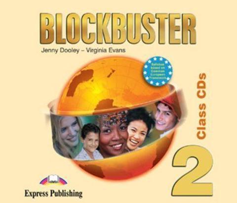 Blockbuster 2. Class Audio CDs. (set of 4). Elementary. Аудио CD для работы в классе