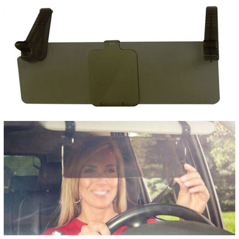 Автомобильный козырек солнцезащитный с передвижным усилителем защиты от солнечного луча Visor HD 30х10