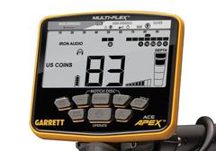 Металлоискатель Garrett ACE Apex + наушники MS-3 Z-Lynk