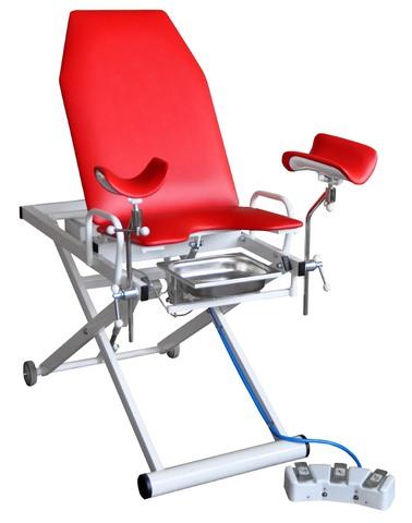 Кресло гинекологическое-урологическое электромеханическое «Клер» модель КГЭМ 01Е (3 электропривода) - фото