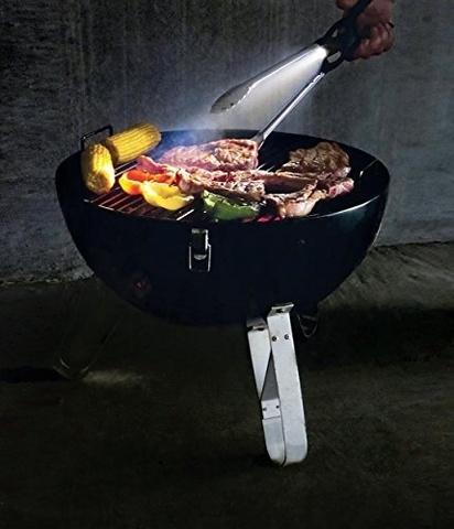 Щипцы для BBQ со светодиодным LED фонариком
