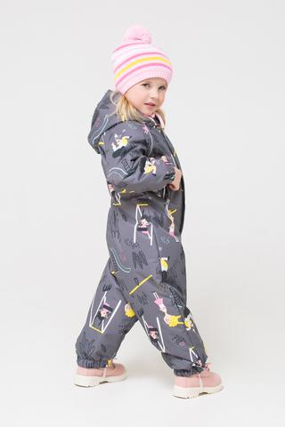 Crockid (Крокид) комбинезон демисезонный утепленный для девочки
